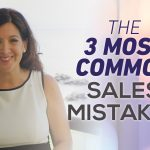 3 Most Common Sales Mistakes
