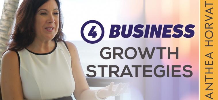 The 4 Business Growth Strategies – Which One Is Right For You?
