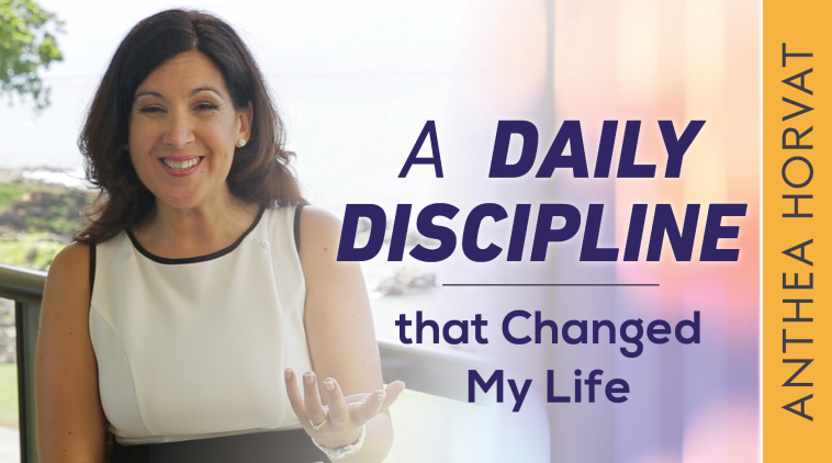 The Daily Discipline That Changed My Life!!!