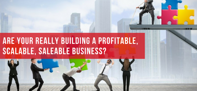 Are You Really Building Profitable, Scalable, Saleable Business?