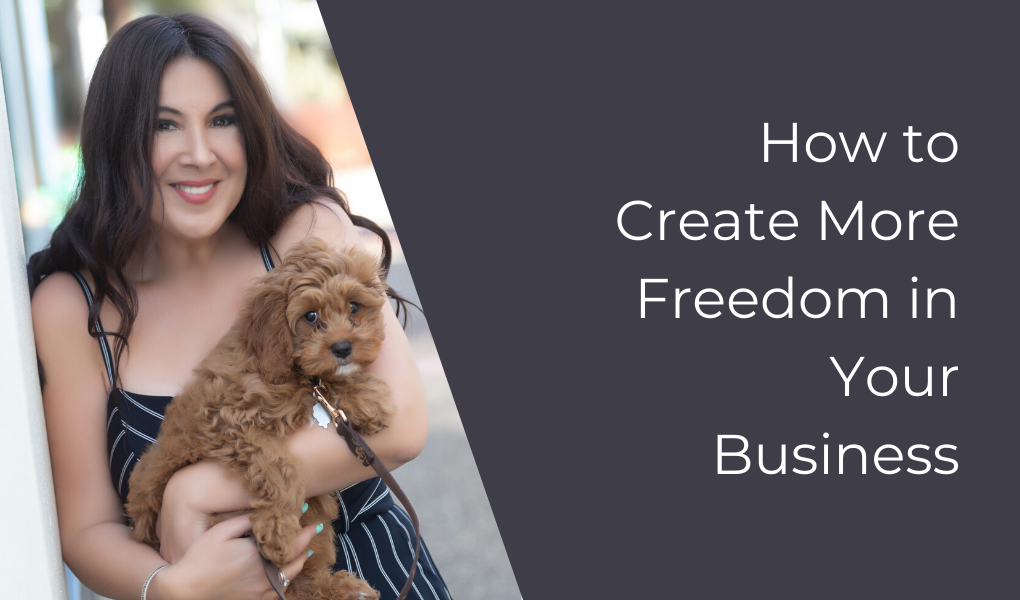 How to Create More Freedom in Your Business